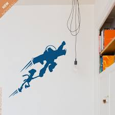 Toy Story Inspired Wall Decal Buzz And Woody Flying Decal Etsy