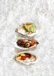 3 Oyster dressing recipes, Asian style