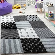 Kids Rug Black And White Children Star Rugs Bedroom Playroom Nursery Mat Sizes 49 99 Picclick Uk