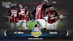 Highlights AC Milan Vs Spezia Serie A Matchday 3 2020/21