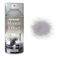 x1 rust oleum mirror effect spray paint