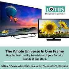 Buy LED TV Online In Your Set Budget - Lotus Electronics in 2020   Online  electronics store, Television online, Led tv