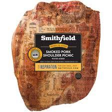 smithfield smoked pork shoulder picnic
