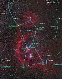 La constelación de Orión