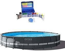 intex pools hot tubs