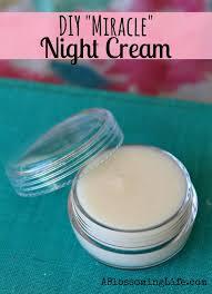 diy miracle night cream a