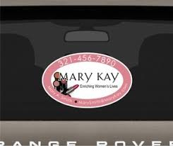 Mary Kay Perforated Rear Window 20 Decal