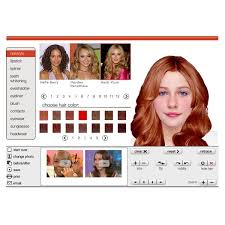 virtual hair makeover game