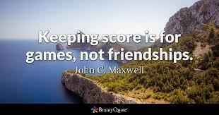 john c maxwell keeping score is for games not