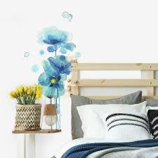 Ebern Designs Poppies Wall Decal Reviews Wayfair