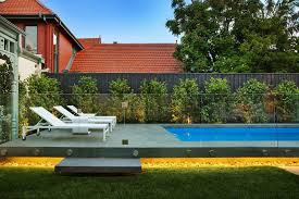 Outdoor Frameless Glass Pool Fencing Melbourne Victoria Poollandscapingideas Swimming Pool Landscaping Pool Fence Pool Landscaping