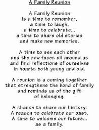 image result for family reunion memorial tribute poems family