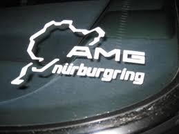 Product Pair Amg Nurburgring Ring Window Body Racing Vinyl Decal Sticker 5 5 Mercedes