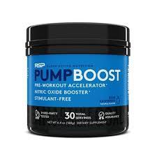 rsp nutrition pump boost pre workout