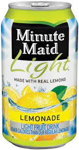 minute maid light lemonade 12 oz