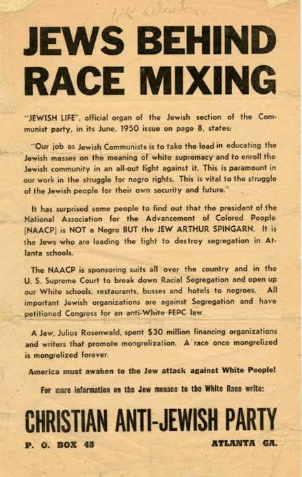 "Image result for jews anti semitism against whites"""