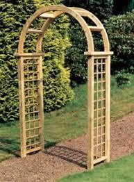 english garden arches garden arch