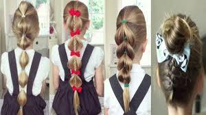 تسريحات شعر للبنات سهلة وسريعة ومميزة جدا للمدرسة Back To School