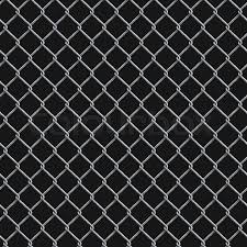 Seamless Realistic Chain Link Fence Stock Vector Colourbox