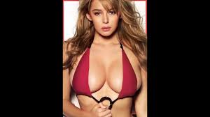 The world's most beautiful breasts   Keeley Hazell - YouTube