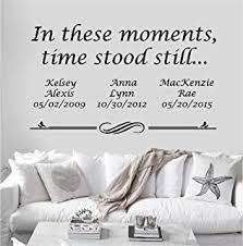Home Family Blessing Wall Sticker Bedroom Quote Wall Decal Wall Art 045