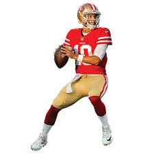 Jimmy Garoppolo San Francisco 49ers Fathead Home Life Size Removable Wall Decal