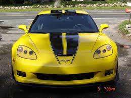 C6 Z06 Corvette Hood Stripe Racing Stripes Me 1