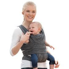 Boppy Comfyfit Hybrid Baby Carrier Heathered Gray Walmart Com Walmart Com