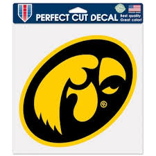 University Of Iowa Car Decals Decal Sets Iowa Hawkeyes Car Decal C Bigtenstore Com