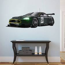 Cik34 Full Color Wall Decal Sports Car Race Speed Strength Living Room Stickersforlife