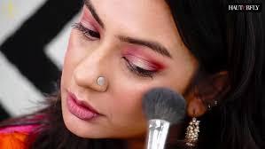 quick festive makeup look