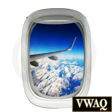 Airplane Wing Mountains Plane Window Decal Vinyl Decal View Etsy In 2020 Aviation Decor Airplane Window Vinyl Wall Decals