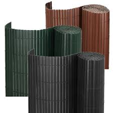 3m 5m Bamboo Effect Garden Screening Pvc Fence Double Side Privacy Panel Roll Uk Ebay