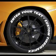 Create Your Own Tire Lettering Performance Tire Decals Tiregraficx