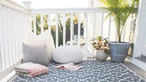5 of the best outdoor rugs real homes