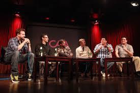 Jason Sudeikis, A.D. Miles, Barry Julien, Steve Bodow, Eric ...