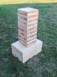 diy giant jenga yard game