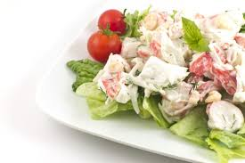 Mayonnaise Seafood Salad - Rocky ...