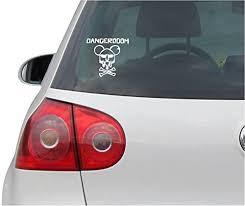 Sticker Decal Jdm Die Cut Danger Buy Online In Guernsey At Desertcart