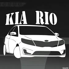 Decal Kia Rio Club Buy Vinyl Decals For Car Or Interior Decal Factory Stickerpro Different Colors And Sizes Is Avalable Free World Wide Delivery