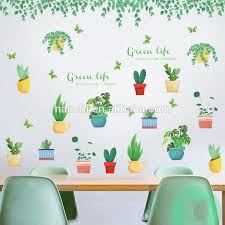 Fresh Potted Plants Wall Decal Reusable Home Decor Kids Room Decoration Space Plant Sticker Children Wall Decal Buy Children Wall Decal Kids Room Decoration Space Wall Sticker Plant Wall Sticker Product On Alibaba Com
