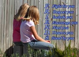 friendship quotes f fight for you r respect you i include you