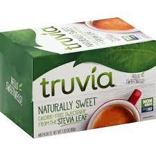 truvia sweetener calorie free