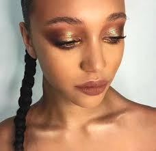 metallic eyeshadow makeup ideas for