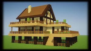 tuto enorme maison en bois de survie