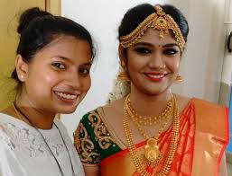 tamilnadu bridal makeup step by step