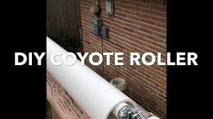 Diy Coyote Roller Animal Deterrent Youtube