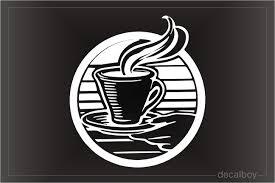 Coffee Decals Stickers Decalboy
