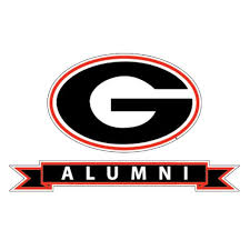 Georgia Bulldogs Alumni Ribbon W Georgia G Decal Walmart Com Walmart Com
