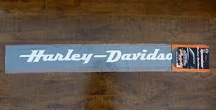 Harley Davidson Rear Window Decal Sticker Windshield New Ebay